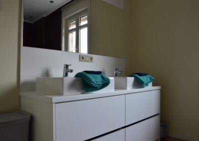 Badkamer - vakantiehuis Jeanne Panne Nieuwpoort