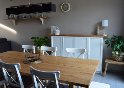 Eetkamer - vakantiehuis Jeanne Panne Nieuwpoort