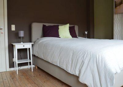 Slaapkamer 1 - vakantiehuis Jeanne Panne Nieuwpoort