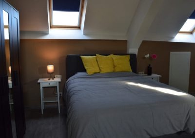 Slaapkamer 4 - vakantiehuis Jeanne Panne Nieuwpoort